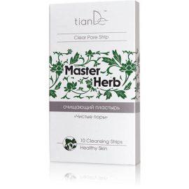 """Čistiaca náplasť na nos Čisté póry """"Master Herb"""", 10 ks"""