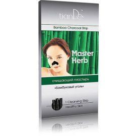 """Čistiaca náplasť na nos Bambusové uhlie """"Master Herb"""", 1ks"""