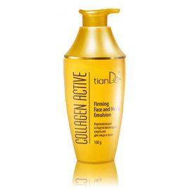 """Spevňujúca a liftingová emulzia na tvár a krk """"Collagen Active"""", 100 g"""