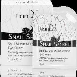 """Multifunkčný krém na oči s mucínom slimáka """"Snail Secret"""", 5ks x 10ml"""