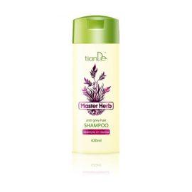 """Šampón na šedivejúce vlasy """"Master Herb"""", 420 ml"""