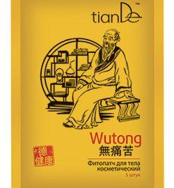 """Wutong Telová bylinná náplasť """"Žiadna bolesť"""", 5 ks"""