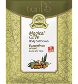 """Telová soľ """"Čarovná oliva"""" Hainan Tao, 60 g"""