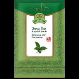 """Telová soľ """"Zelený čaj"""" Hainan Tao, 60 g"""