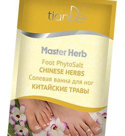 "Soľný kúpeľ na nohy ""Čínske byliny"" Master Herb, 50 g"