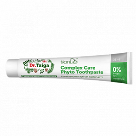 "Komplexná zubná fyto-pasta ""Dr. Taiga"", 75ml"