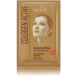 """Collagen Active"" Korigujúca maska na tvár ""Intenzívny lifting"", 1 ks"
