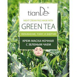 Krémová maska Zelený čaj, 1 ks