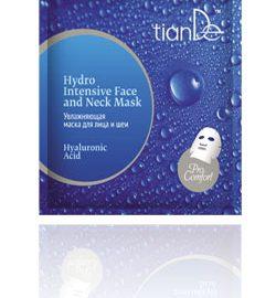 """Hydratujúca maska na tvár a krk """"Kyselina hyalurónová"""", 1 ks"""
