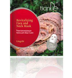 """Revitalizujúca maska na tvár a krk """"Lingzhi"""", 1 ks"""