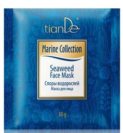 """Pleťová maska na tvár """"Spóry morských rias"""" Marine Collection, 30 g"""