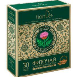 Bylinná zmes s vrbkou úzkolistou a maralím koreňom pre mužov, 30 čaj. sáčkov