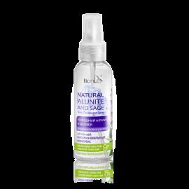 """Telový dezodorant - sprej """"Prírodný alunit a šalvia""""; 100 ml"""