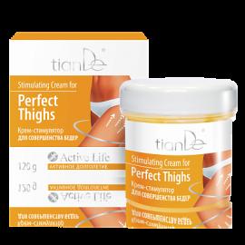 Povzbudzujúci krém pre dokonalé stehná, 120 g