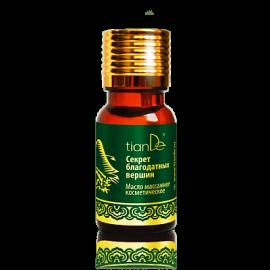 """Kozmetický masážny olej pre ženy """"Tajomstvo blahodárnych vrcholov""""; 10 ml"""