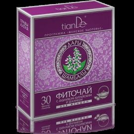 Bylinný čaj s Angelikou čínskou a šalviou pre ženy, 30 filtračných vreciek po 2 g