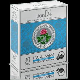 Bylinný čaj pre cievy s ďatelinou, 30 filtračných vreciek po 2 g