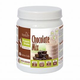 Čokoládový proteínový koktail-mix so sladidlom, 300 g
