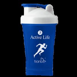 Kokteilový shaker Active life, modrý; 1 ks