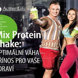 """Brožúra """"Mix Protein Shake"""" (CZ), 1 ks"""