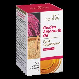 """Funkčný komplex """"Zlatý amarantový olej"""", 50 kapsúl á 0,5 g"""