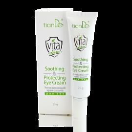Upokojujúci a ochranný krém na očné viečka Vita Derm, 25 g